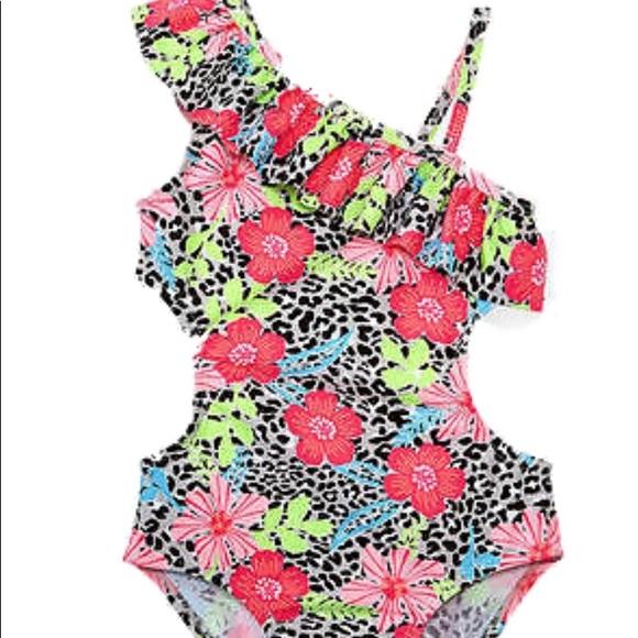 df95e8f6c3e6b Koala Kids Swim | Leopard And Floral Bathing Suit | Poshmark